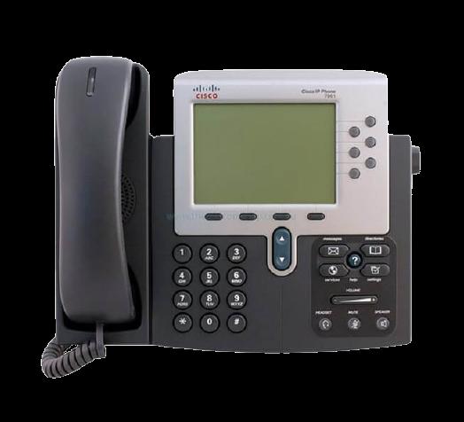 گوشی تلفن تحت شبکه سیسکو مدل CP-7961